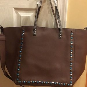Handbags - Women's brown leather purse